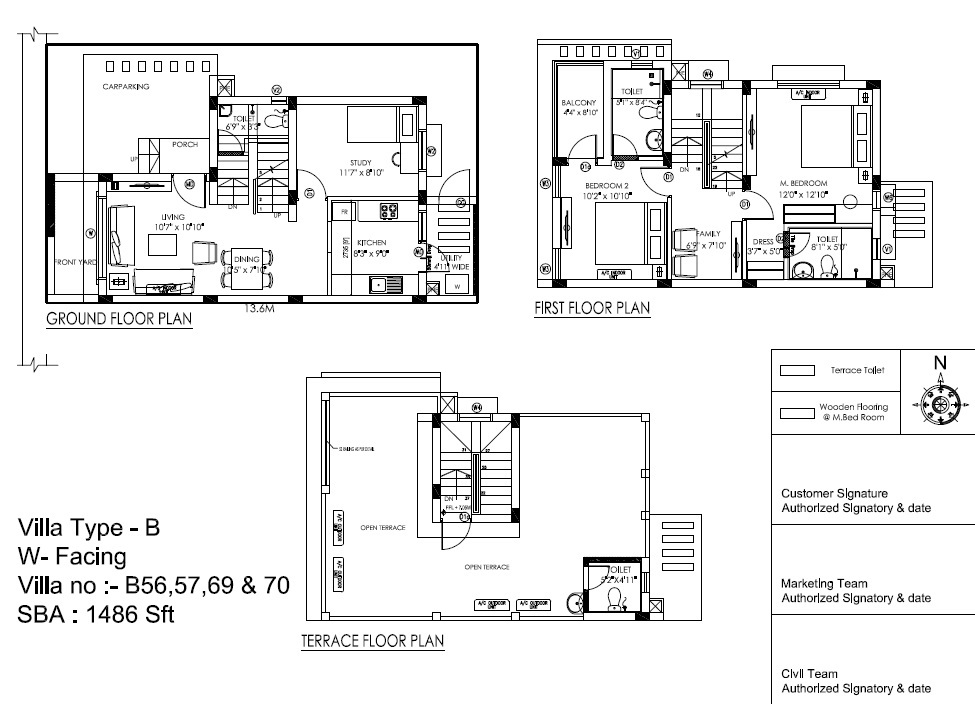 b-west-facing-villa-floor-plans