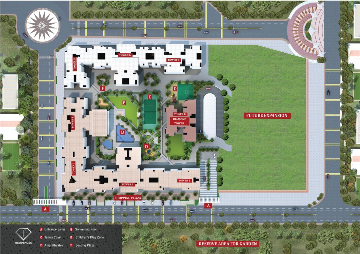 bramhacorp-f-residences-pune-sitemap