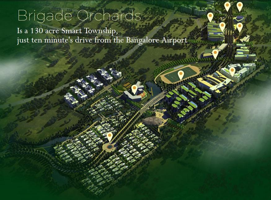 Brigade Orchard Bangalore