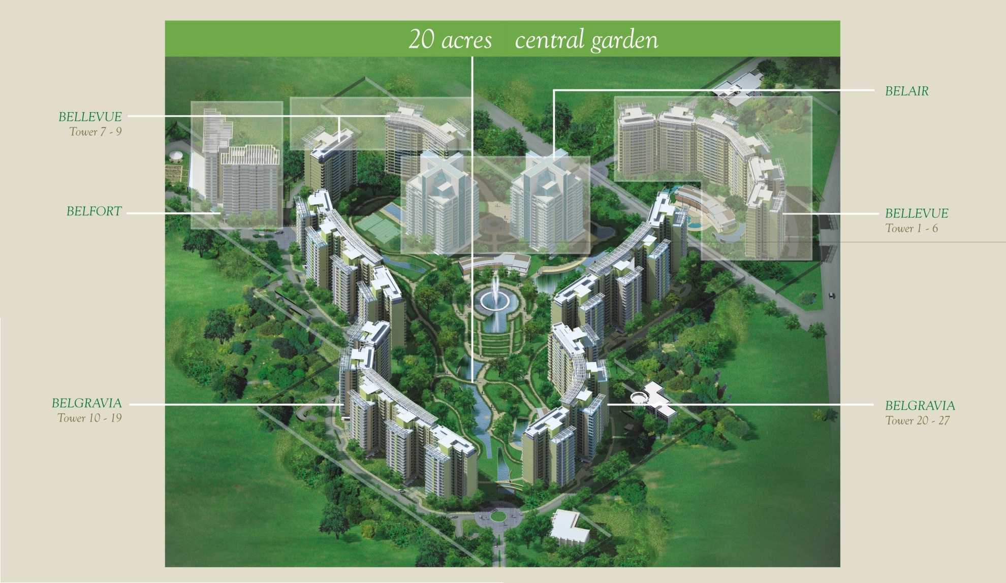 Central Park Resorts Gurgaon