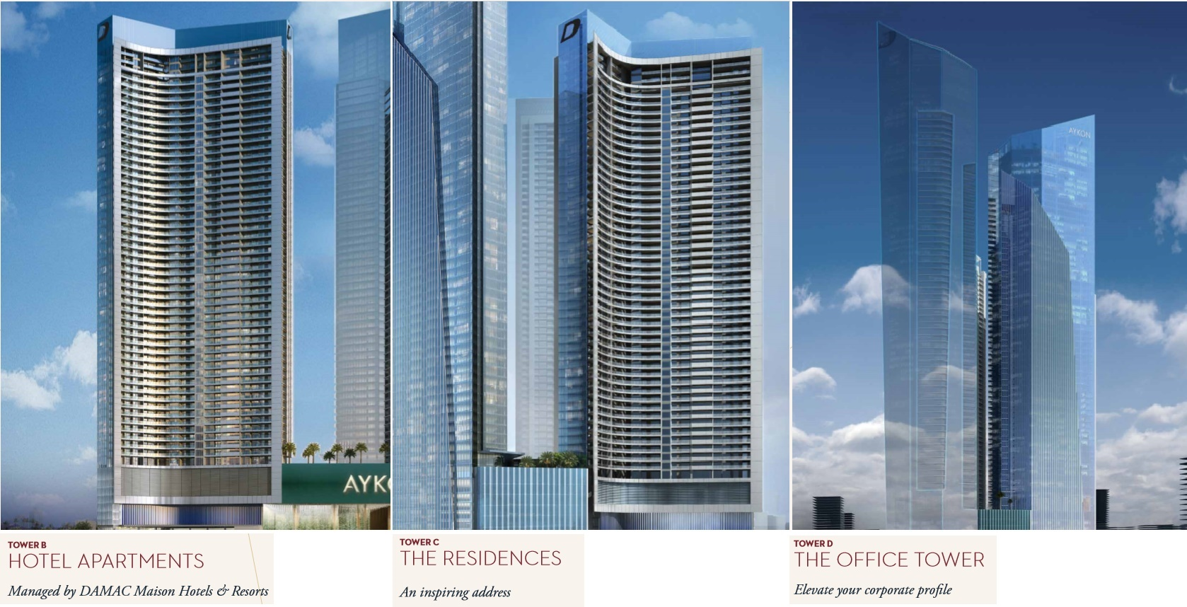 DAMAC Aykon City Dubai