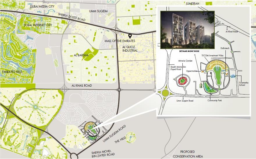 Deyaar Montrose Residence Dubai