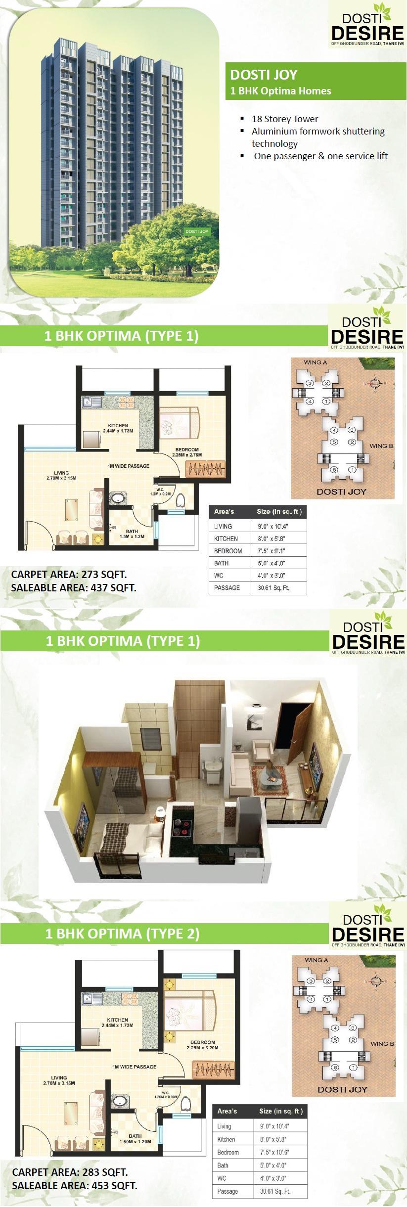 Dosti Desire Thane Mumbai
