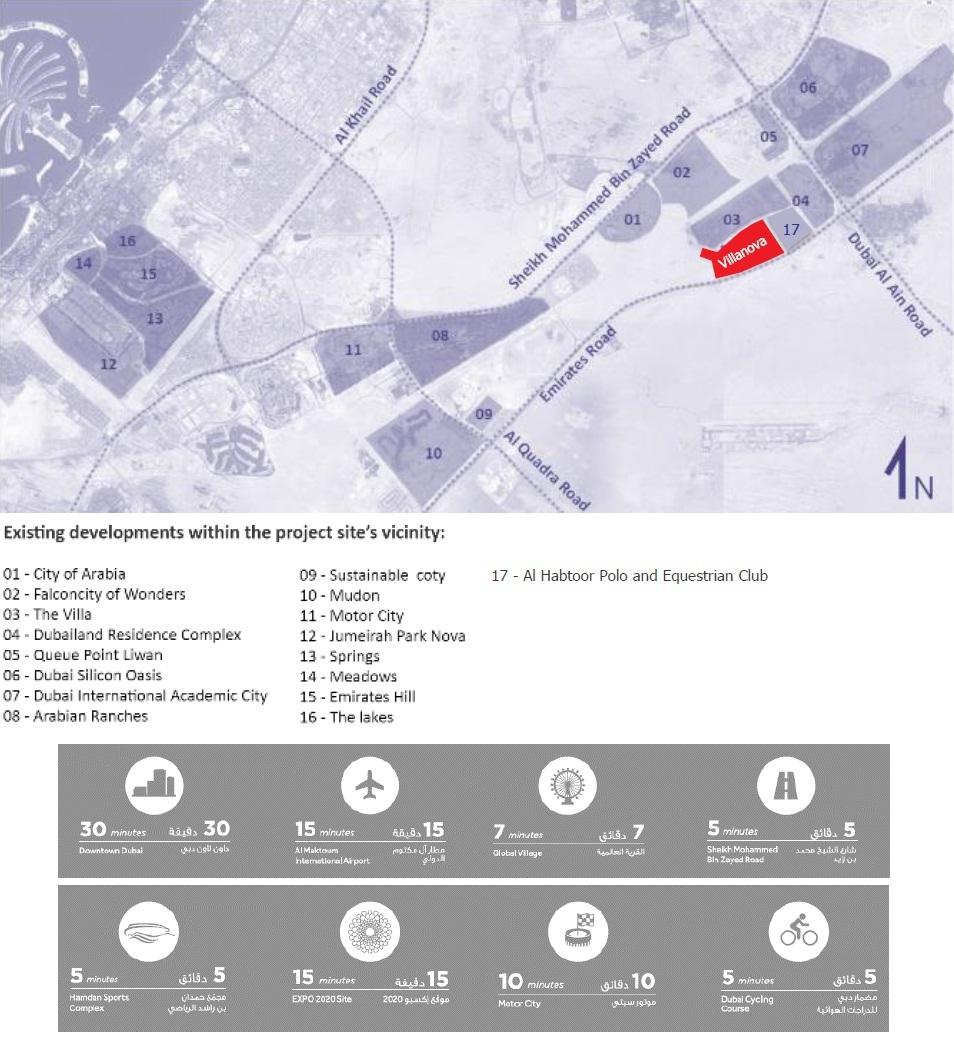 Dubai Properties La Quinta Villas Villanova