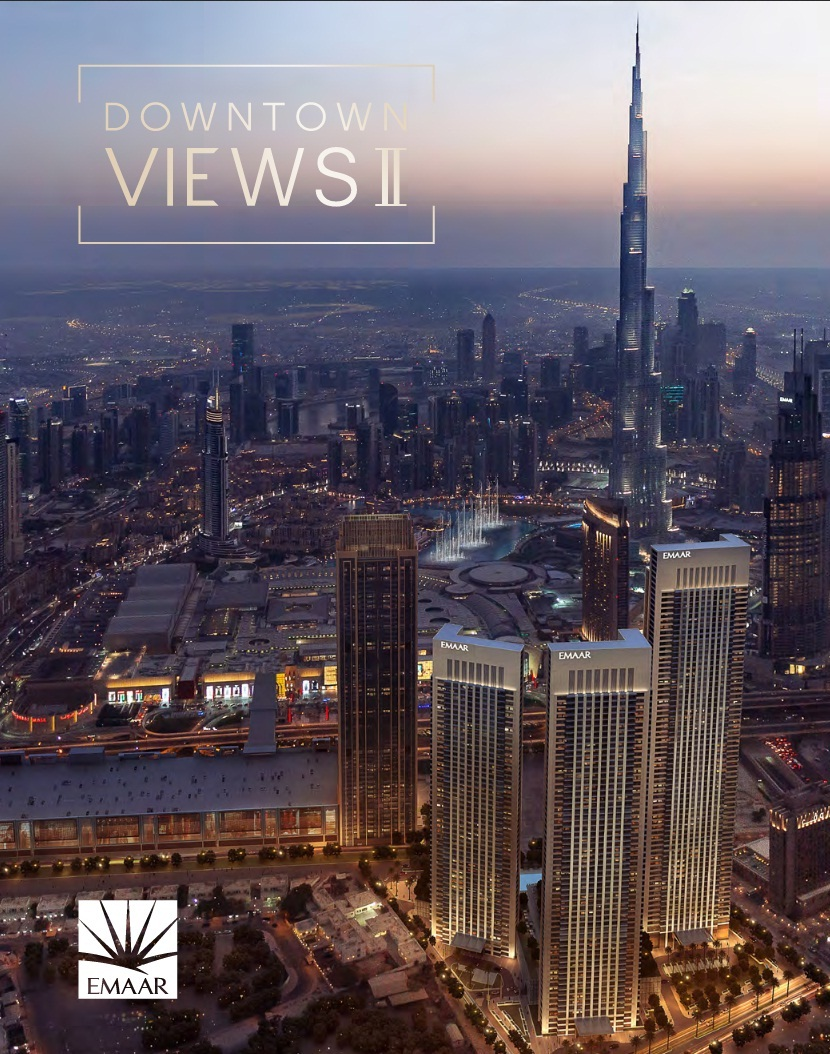 Emaar Downtown Views 2 Dubai