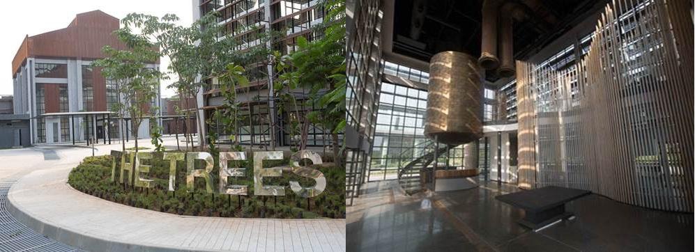 Godrej the trees vikhroli mumbai for International architectural firms in mumbai