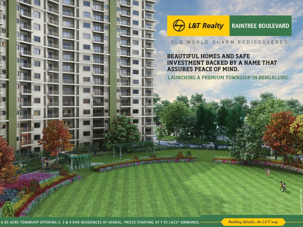 L&T Raintree Boulevard Bangalore