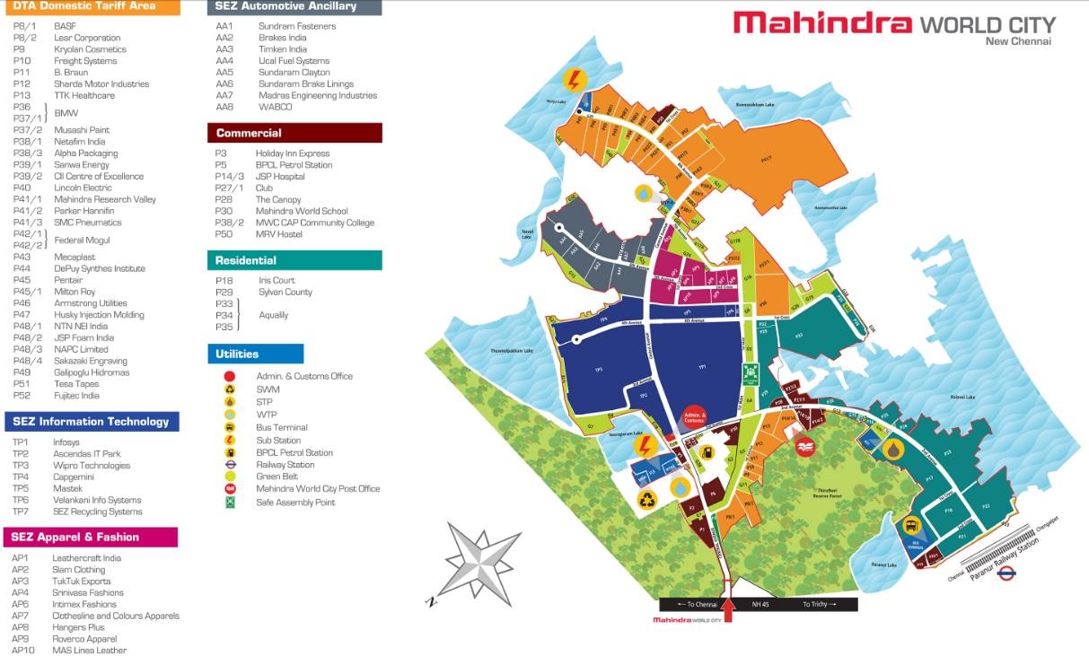 Mahindra World City Chennai