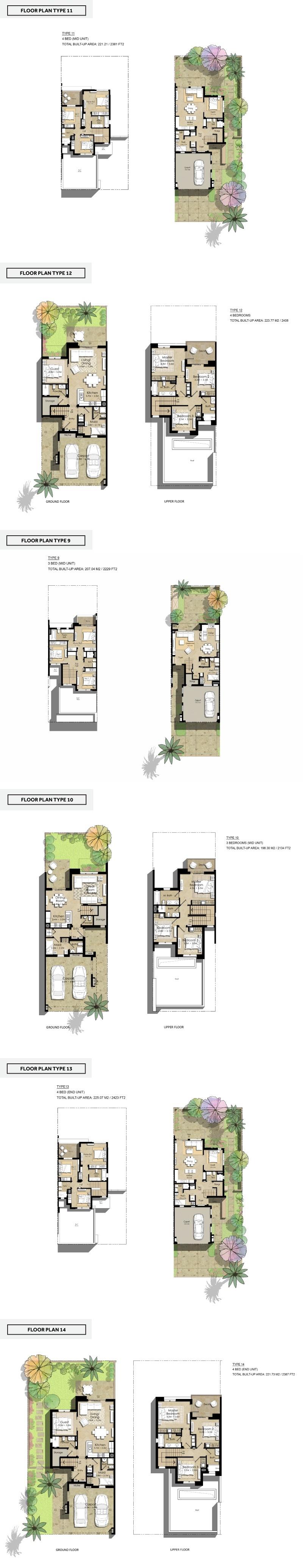Nshama Safi Townhouses Dubai 3