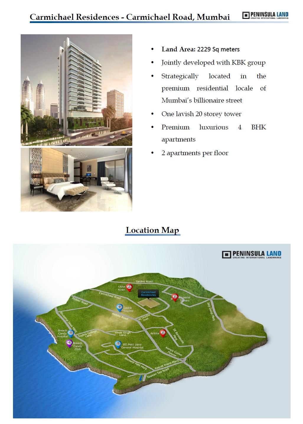 Peninsula Carmichael Residences Mumbai