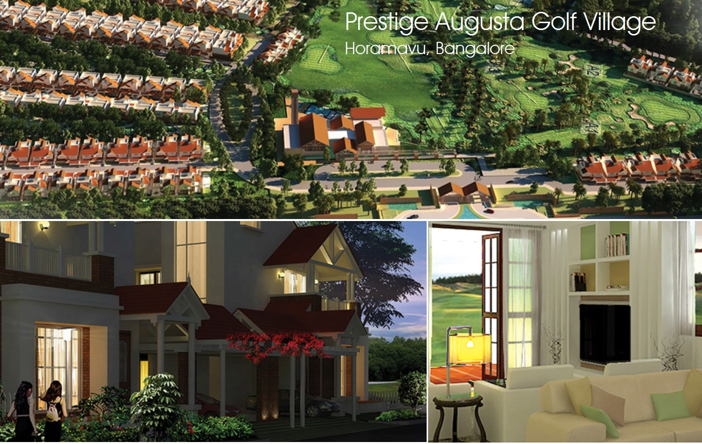 Prestige Augusta Golf Village Bangalore