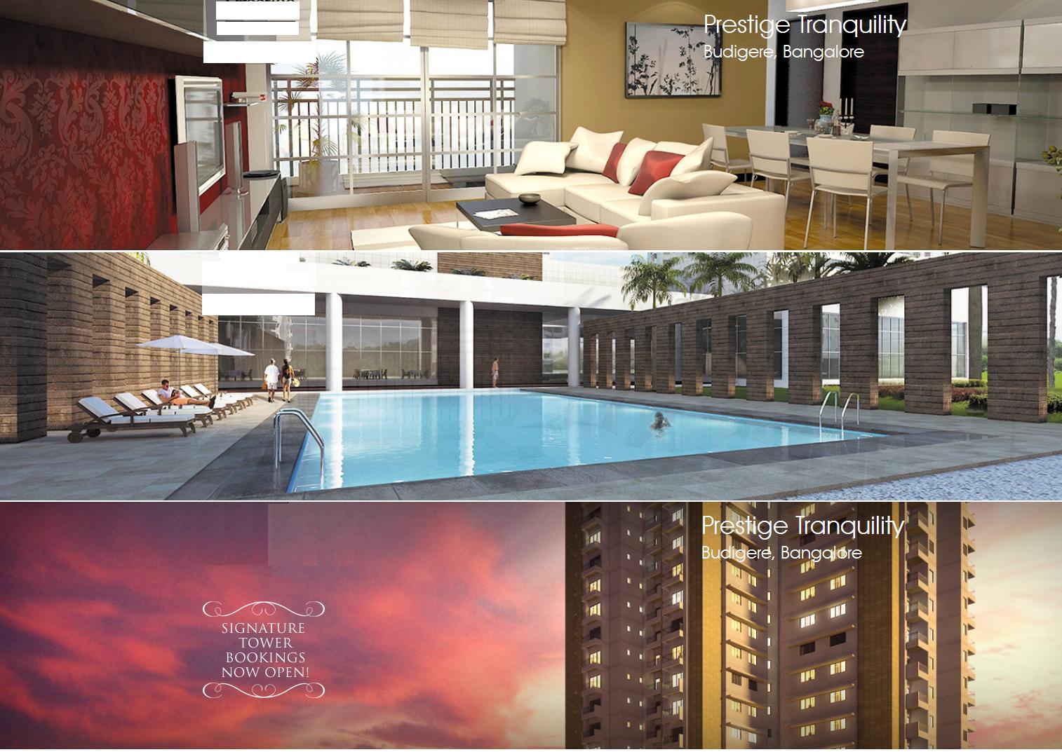 Prestige Tranquility Bangalore