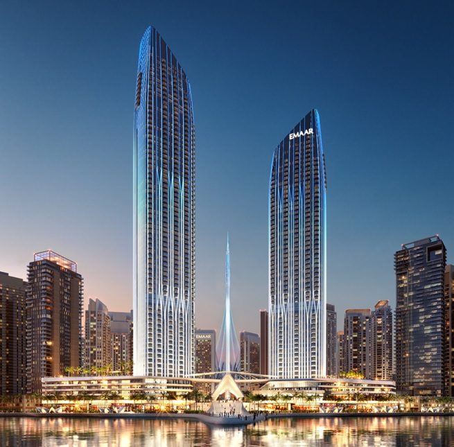 Emaar Address Harbour Point Auric Acres Dubai UAE India And - Elevation level by address