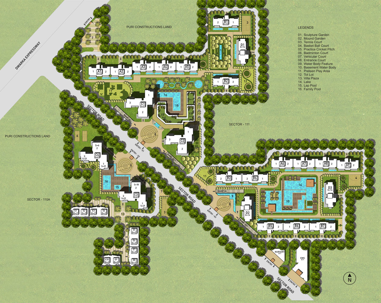Puri Diplomatic Greens Phase 2 Gurgaon