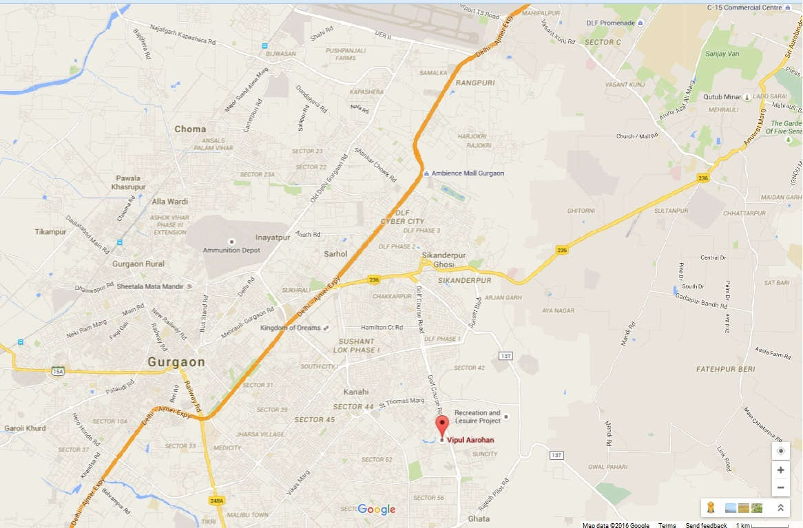 Vipul Aarohan Residences Gurgaon
