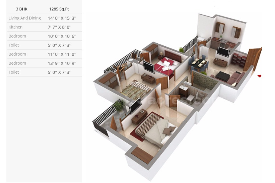 tata-destination-150-noida-3-bhk-compact-layout