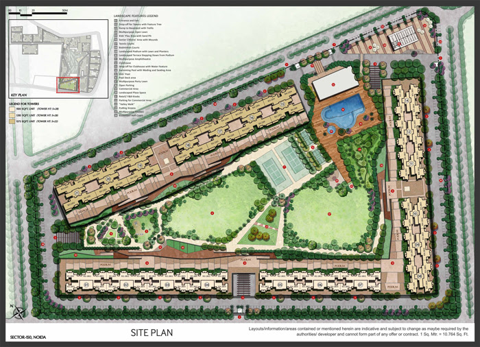 tata-destination-150-noida-mater-plan-layout